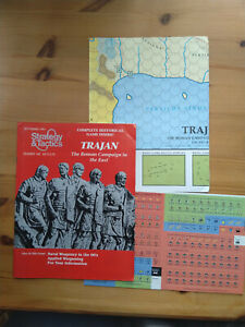 SPI Strategy and Tactics number 145 Trajen Roman Campaign in the East