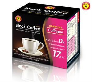 NatureGift Black Coffee Plus Collagen Weight Loss Slimming Drink 10 Sachets