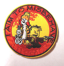 "SERENITY/FIREFLY ""I Aim to Misbehave"" Logo 3.5""  Patch-Mailed from USA(SEPA-007)"