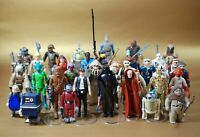 Pick 1 or More: VINTAGE STAR WARS COMPLETE ACTION FIGURES KENNER 100% ORIGINAL