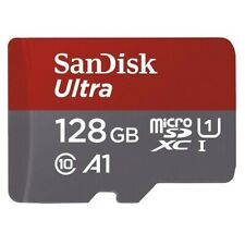 SanDisk Ultra 128GB up to 100B/S Class 10 Micro SD MicroSDXC TF Memory Card