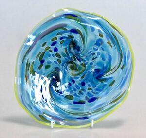 Platter by Australian glass artist Tina Cooper