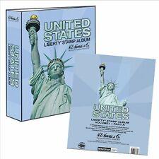 He Harris Usa Liberty 1 Stamp Album Part A 1847-1994 W Binder & Pages Liberty  00006000 I