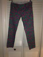 Lilly Pulitzer size 0 worth skinny mini jeans