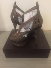 6b780df172c7 BEBE  Sienna  Platform High Heel Size 10 Bronze New ...