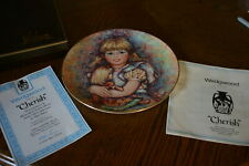 197 Mary Vickers Collector Plate - Cherish - The Blossoming of Suzanne Series