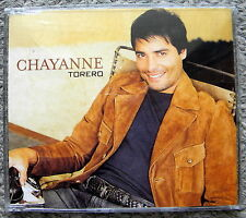 CHAYANNE TORERO cd SINGLE RARE OOP NICE Hebrew