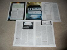Nakamichi 1000 DAT Special Review, 5 pg, 1990, Full Test, Specs, Info