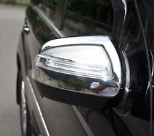 MERCEDES BENZ ML CLASS 4 DOOR SUV W164 NEW CHROME DOOR MIRROR TRIMS 2008 - 2011