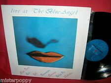 LIVE at The Blue Angel VVAA LP 1986 ITALY Avion Travel Ciak Life Spleen Fix etc.