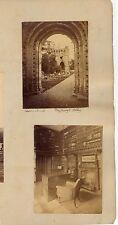 EDINBURGH FROM THE CALTON HILL DESC. ON BACK BY G. W. W.  4 PHOTOS