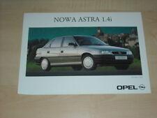 36334) Opel Astra Sedan 1.4i Polen Prospekt 199?