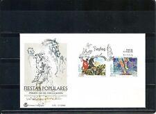 Spain España FDC 3719/20 Año 2000 Fiestas populares SPD