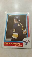1986-87 Topps Doug Gilmour Card 90 Great HOF Player
