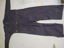 Navy Blue Tillman, Indura brand Westex Coveralls, flame resistant fabric size 4X