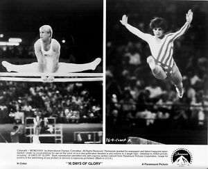 MARY LOU RETTON & BART CONNER vintage 8x10 GOLD MEDAL GYMNASTS '84 OLYMPIC GAMES