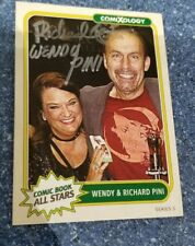 2017 SDCC COMIXOLOGY ALL STARS SIGNED AUTO CARD RICHARD WENDY PINI ELFQUEST # 17