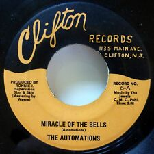 Automations 45 Miracle Of The Cloches / Here's That Rainy Day Clifton VG c3091