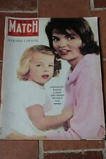 Paris Match N° 627,1961,aeroport Tahiti,docteur Finch,Caroline,URSS
