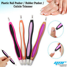 Cuticle Pusher UV Gel Polish Soak Off Remover Tool Nail Arts Cuticle Trimmer New