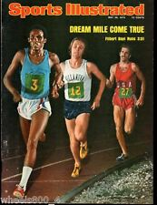 Sports Illustrated 1975 Dream Mile Filbert Bayi 3:51 No Label Excellent