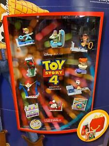 2019 McDONALD'S TOY STORY 4 HAPPY MEAL TOYS Choose Your character SHIPS NOW