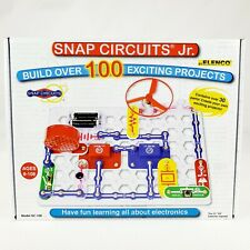 ELENCO Snap Circuits Jr. 100 Experiments Electronics Discovery Kit Complete