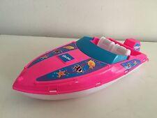 Barbie Ocean Friends Pink Speedboat 1996
