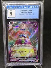 2020 Pokemon Champion's Path - Alcremie VMAX 23/72 - MINT 9 CGC / PSA / BGS
