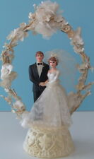 Vintage 1970s COAST NOVELTY Wedding Cake Topper
