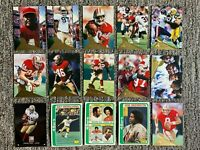190 Different San Fransisco 49ers Football Cards *Team Sets* *Rookies* *Stars*