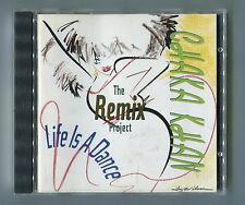 Chaka Khan cd LIFE IS A DANCE the remix project © 1989 - 11-Track MAXI VERSIONS