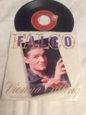 "Falco 45 Vinyl 7"" Vienna Calling ('86 Mix) Tango The Night 1986 Record 3 Not CD"