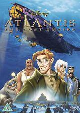 ATLANTIS THE LOST EMPIRE Original Walt Disney Michael J.Fox NEW SEALED UK R2 DVD