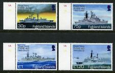 Falkland 2014 Royal Navy Kriegsschiffe War Ships Schiffe Navi Bateaux MNH