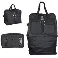 Extra Large Expandable Folding Wheeled Cargo Duffle Travel Bag=40inch