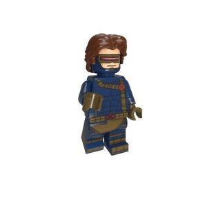 Minifigur / Figur - Cyclops - Marvel X-Men -NEU- Lego kompatibel
