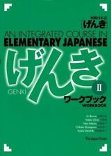 Genki II: An Integrated Course in Elementary Japanese - Workbook English and Ja