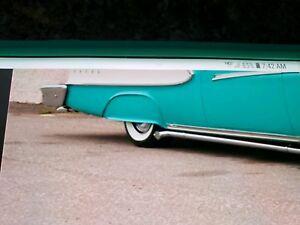 1958 Edsel Pacer Ranger Steel Fender Skirts New