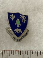Authentic US Army 362nd Infantry Regiment Unit DI DUI Crest Insignia NH