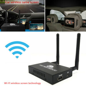 1X Dual-Band PTV550 Car With The Screen Wireless Push Treasure WIFI For TV Video