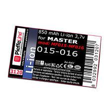 Batterie pour Master MF015 MF016 015 016 da 850 Mah À Lithium