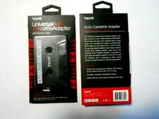 Tzumi Plug & Play Car Audio Cassette Tape Adapter Transmitters Mp3 iPod iPhone