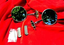 Vintage Side Mirrors WILLYS JEEP  JEEPSTER Panel Station Wagon  SW Clip On NEW 2