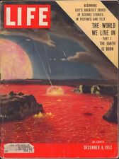 LIFE December 8,1952 The World We Live In Pt1 / Poltergeist / Prize Epitaphs