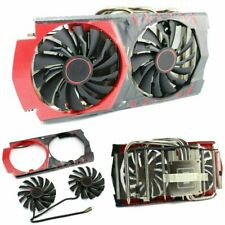 For MSI GTX960 RX470/480/570/580 GPU Gaming Video Card Cooler Cooling Fan 4-Pin