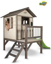 Casetta Legno Sunny Lodge XL + Scivolo Playhouse Giardino Gioco Regalo Bimbi
