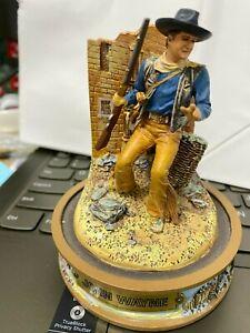"Franklin Mint John Wayne ""The Alamo"" Domed Figurine--Numbered...hcj"