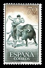 "Bullfighting Spain Stamp Poster #6 Canvas Art Poster 16""x 24"""