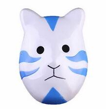 Xcoser Anime Naruto Kakashi Anbu Ninja Cosplay Costume Blue Plastic Mask Props